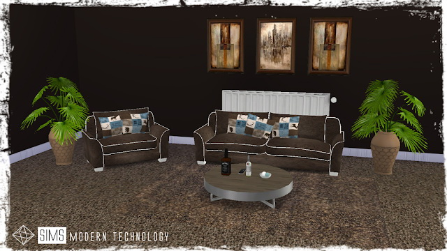 Thimble Island 2T4 Love Seat & Chair Retexture at Sims Modern Technology image 1278 Sims 4 Updates