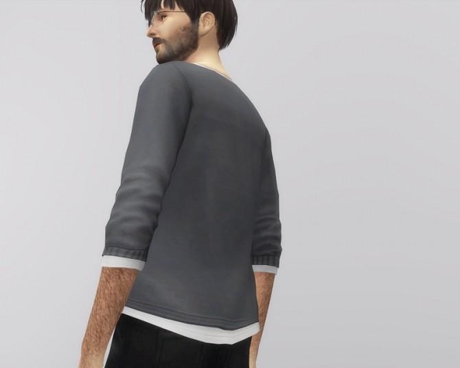 Sims 4 Relaxed Fit T Shirt at Rusty Nail