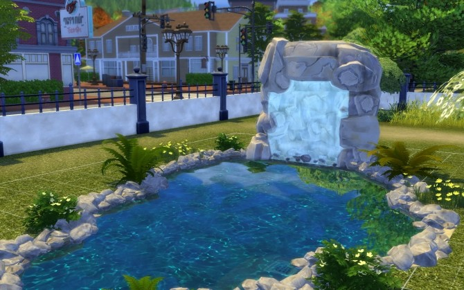 Three Waterfalls by fire2icewitch at Mod The Sims image 12810 670x419 Sims 4 Updates
