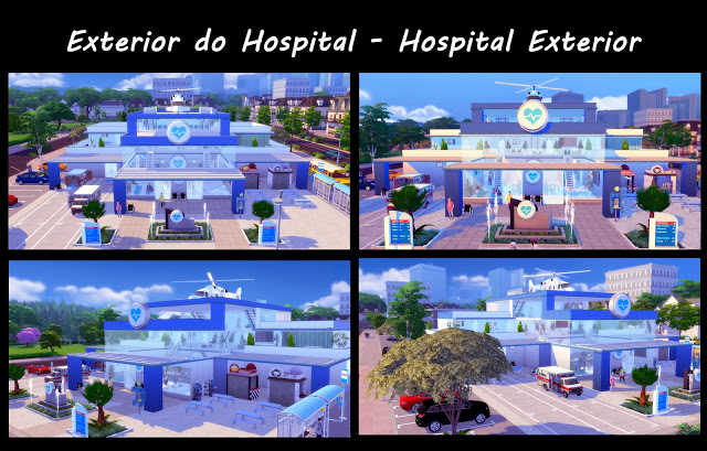 Metropolitan Hospital at Lily Sims image 1284 Sims 4 Updates