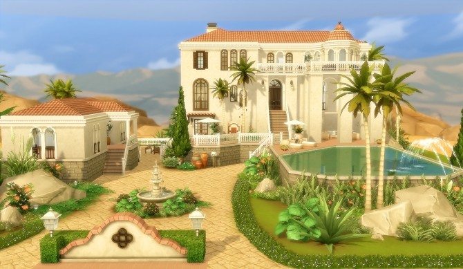 House 44 Oasis Springs At Via Sims Sims 4 Updates