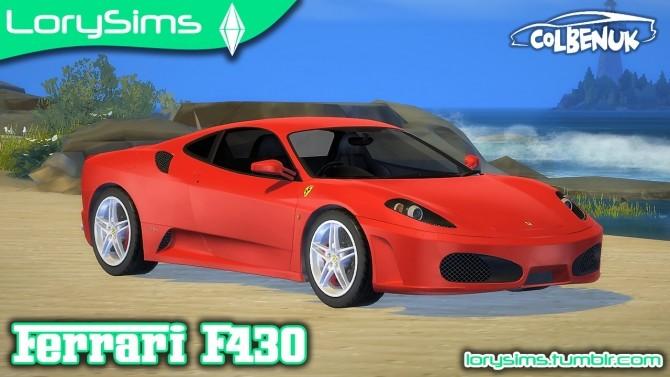 Ferrari F430 at LorySims image 1303 670x377 Sims 4 Updates