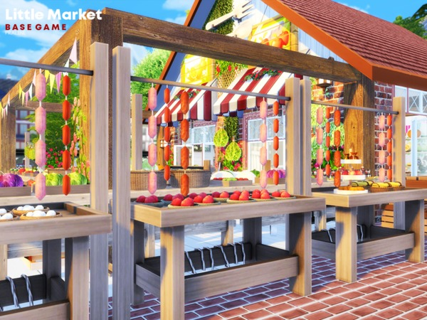Little Market by Pralinesims at TSR image 1310 Sims 4 Updates