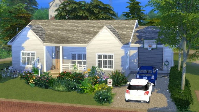 Sims 4 Family House at MODELSIMS4