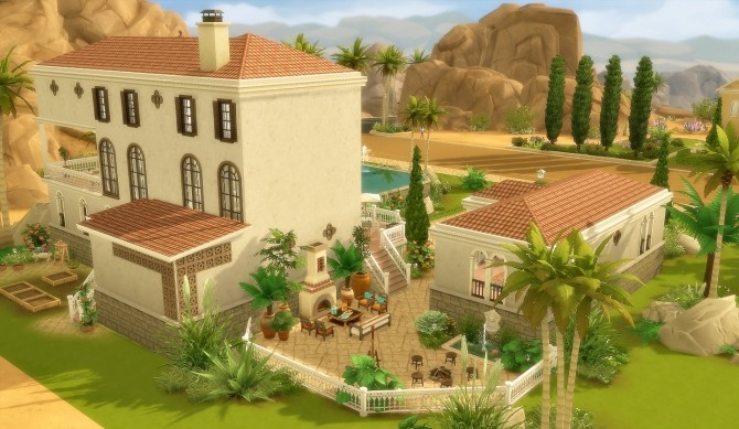House 44 Oasis Springs at Via Sims image 13116 670x389 Sims 4 Updates