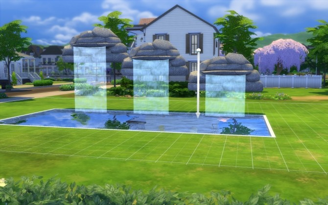 Three Waterfalls by fire2icewitch at Mod The Sims image 13117 670x419 Sims 4 Updates