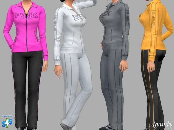 Jamie Sweatsuit by dgandy at TSR image 1316 Sims 4 Updates