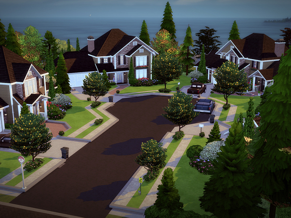 Springdale Court NO CC by melcastro91 at TSR image 1320 Sims 4 Updates