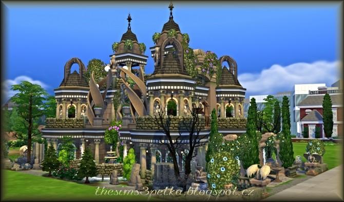 Sims 4 Eveil de lâme home at Petka Falcora