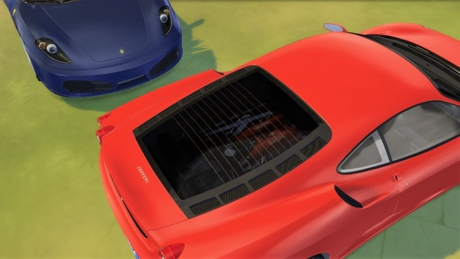 Ferrari F430 at LorySims image 1323 670x377 Sims 4 Updates