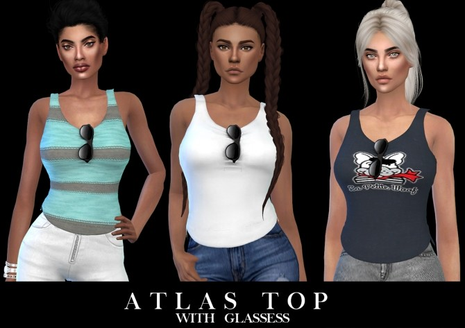 Atlas Top at Leo Sims image 1325 670x473 Sims 4 Updates
