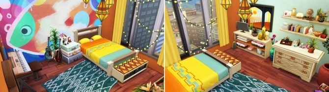 Boho Family Apartment at Aveline Sims image 1329 670x188 Sims 4 Updates