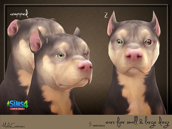 Dog Ears by MahoCreations at TSR image 1330 Sims 4 Updates