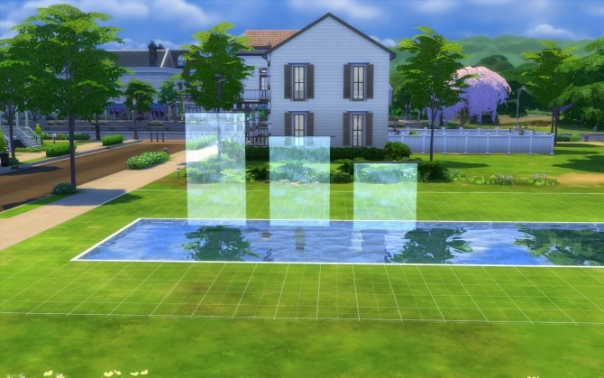 Sims 4 Three Waterfalls by fire2icewitch at Mod The Sims