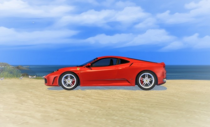 Sims 4 Ferrari F430 at LorySims