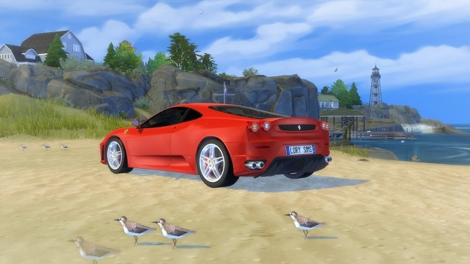 Ferrari F430 at LorySims image 1343 670x377 Sims 4 Updates