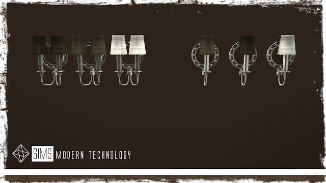MG24 IDBD Hudson Valley Regent Old Nicke Wall Lights Retextures at Sims Modern Technology image 13510 Sims 4 Updates