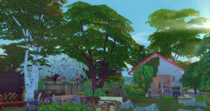 Sims 4 Le Squat by Angerouge at Studio Sims Creation