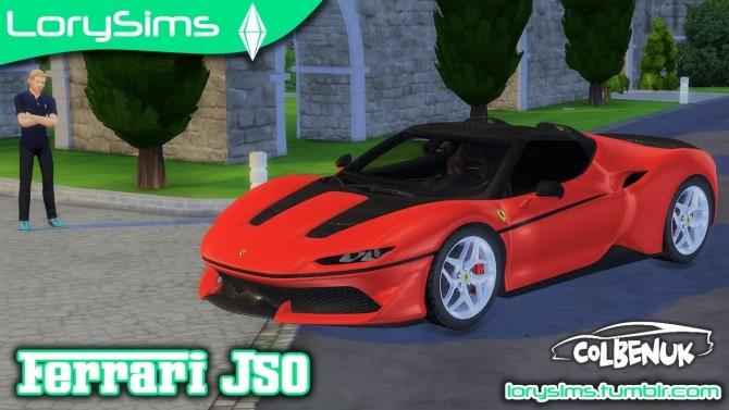 Ferrari J50 at LorySims image 1403 670x377 Sims 4 Updates