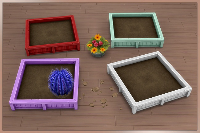 TAO planter 2x2 by Cappu at Blacky's Sims Zoo image 14115 Sims 4 Updates