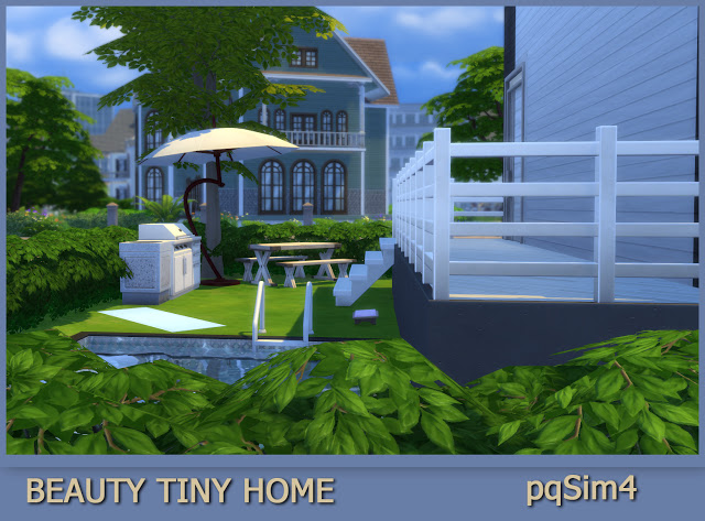 Sims 4 Beauty Tiny Home at pqSims4