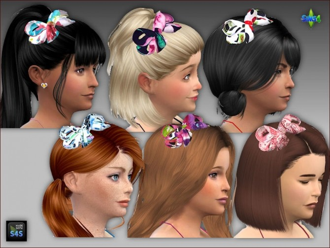 Summer dresses and hair bows for girls by Mabra at Arte Della Vita image 14117 670x503 Sims 4 Updates