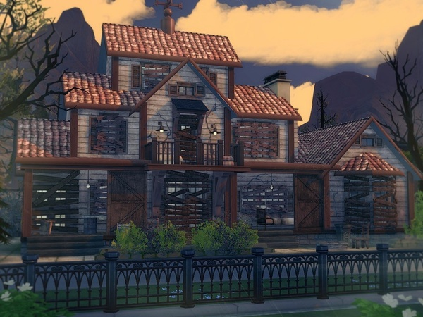 Abandoned House 2 by MychQQQ at TSR image 1414 Sims 4 Updates