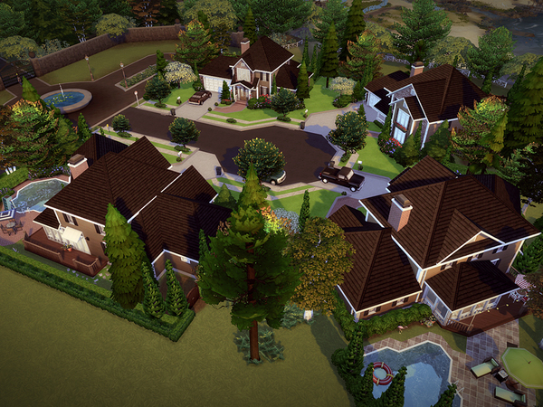 Springdale Court NO CC by melcastro91 at TSR image 1420 Sims 4 Updates