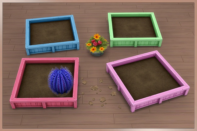 TAO planter 2x2 by Cappu at Blacky's Sims Zoo image 14211 Sims 4 Updates
