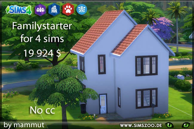 Family starter 1 by mammut at Blacky's Sims Zoo image 1431 Sims 4 Updates