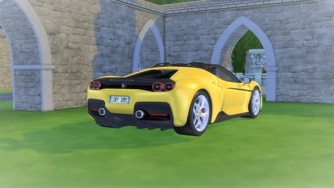 Ferrari J50 at LorySims image 1453 670x377 Sims 4 Updates