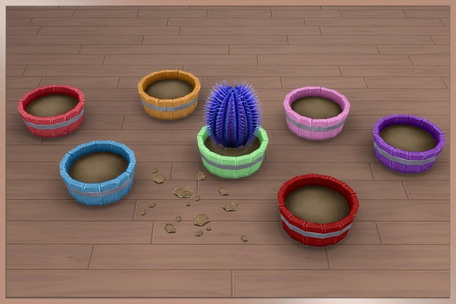TAO planter by Cappu at Blacky's Sims Zoo image 1458 Sims 4 Updates
