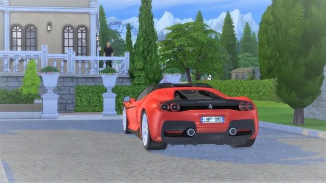 Ferrari J50 at LorySims image 1463 670x377 Sims 4 Updates