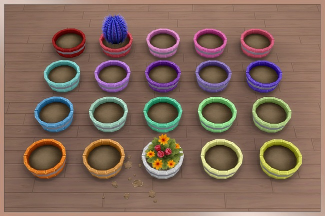 TAO planter by Cappu at Blacky's Sims Zoo image 1468 Sims 4 Updates