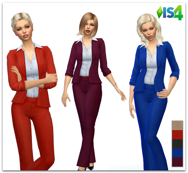 IS4 60 women suit at Irida Sims4 image 1471 Sims 4 Updates