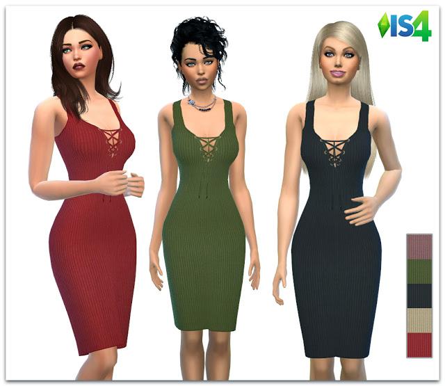 Sims 4 IS4 59 dress at Irida Sims4