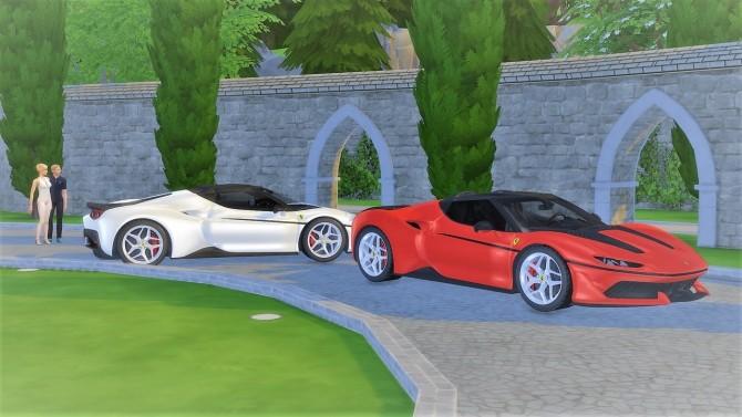 Ferrari J50 at LorySims image 1483 670x377 Sims 4 Updates