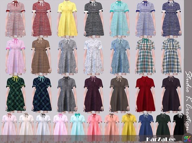 Sims 4 Type L dress at Studio K Creation