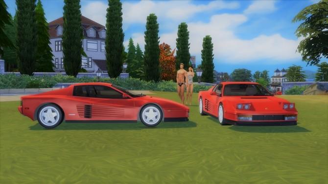 Ferrari Testarossa at LorySims image 15110 670x377 Sims 4 Updates