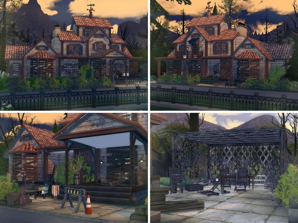 Abandoned House 2 by MychQQQ at TSR image 1514 Sims 4 Updates
