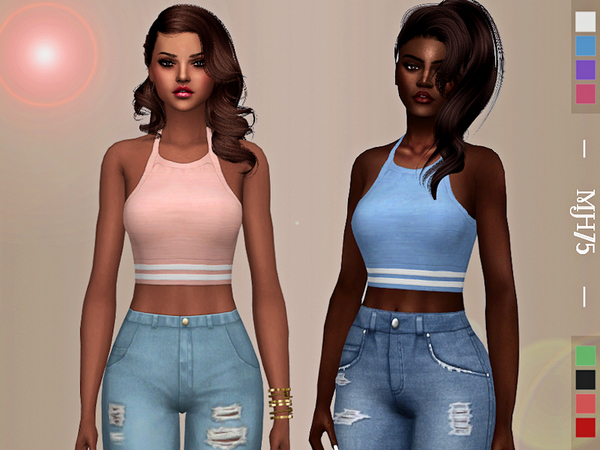Sims 4 Energize Tops by Margeh 75 at TSR