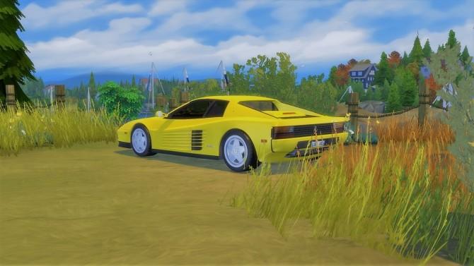 Ferrari Testarossa at LorySims image 1523 670x377 Sims 4 Updates