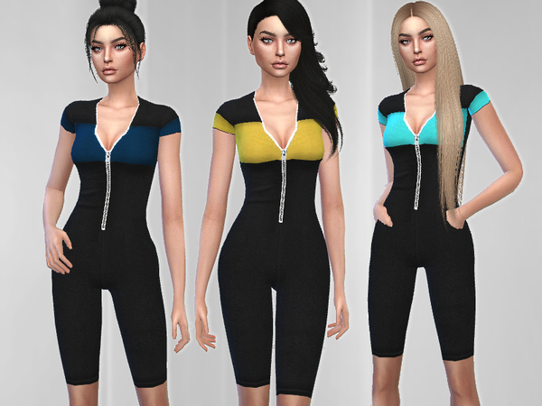 Nova Jumpsuit by Puresim at TSR image 1525 Sims 4 Updates