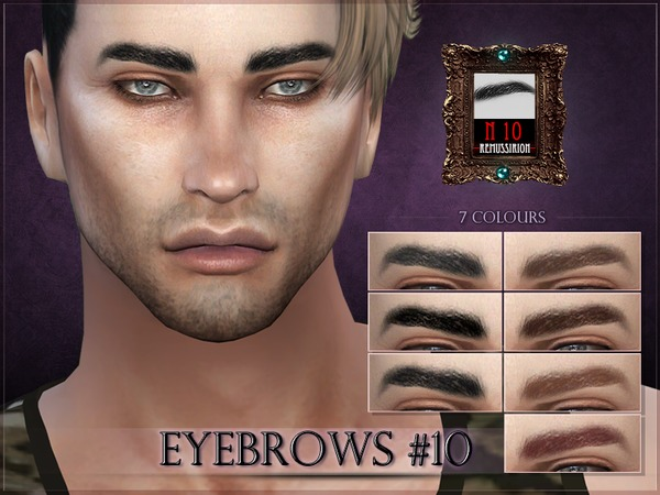 Eyebrows 10 by RemusSirion at TSR image 1530 Sims 4 Updates