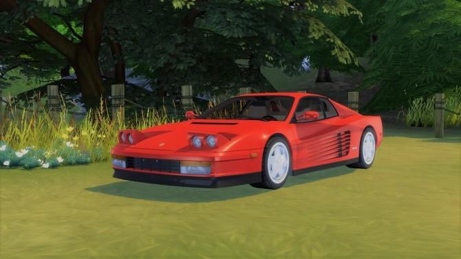 Ferrari Testarossa at LorySims image 1533 670x377 Sims 4 Updates