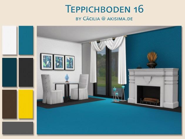 Sims 4 Carpet 16 by Cäcilia at Akisima
