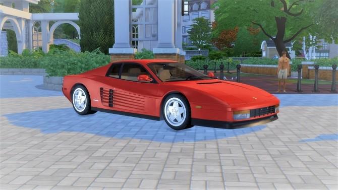 Ferrari Testarossa at LorySims image 1543 670x377 Sims 4 Updates