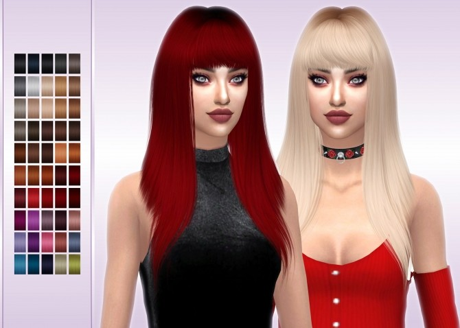 LeahLillith Monster Hair Retexture at FROST SIMS 4 image 1544 670x478 Sims 4 Updates
