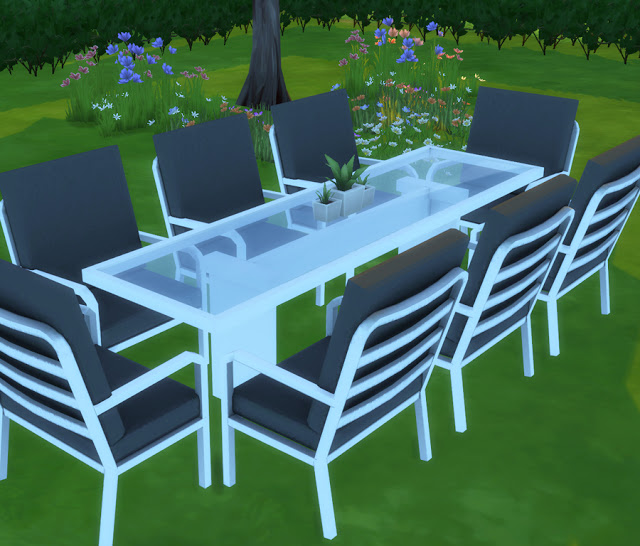Marquee Outdoor Setting at Simista image 1548 Sims 4 Updates