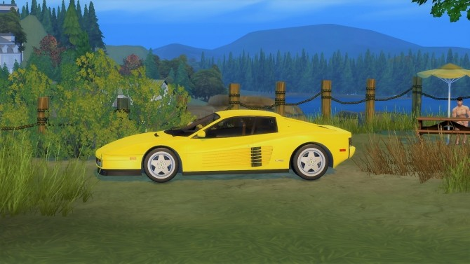 Ferrari Testarossa at LorySims image 1553 670x377 Sims 4 Updates